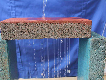 重庆彩石环氧通体透水砖