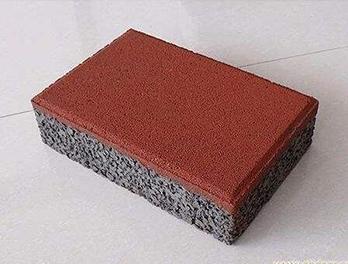 成都大渡口生态砂基透水砖